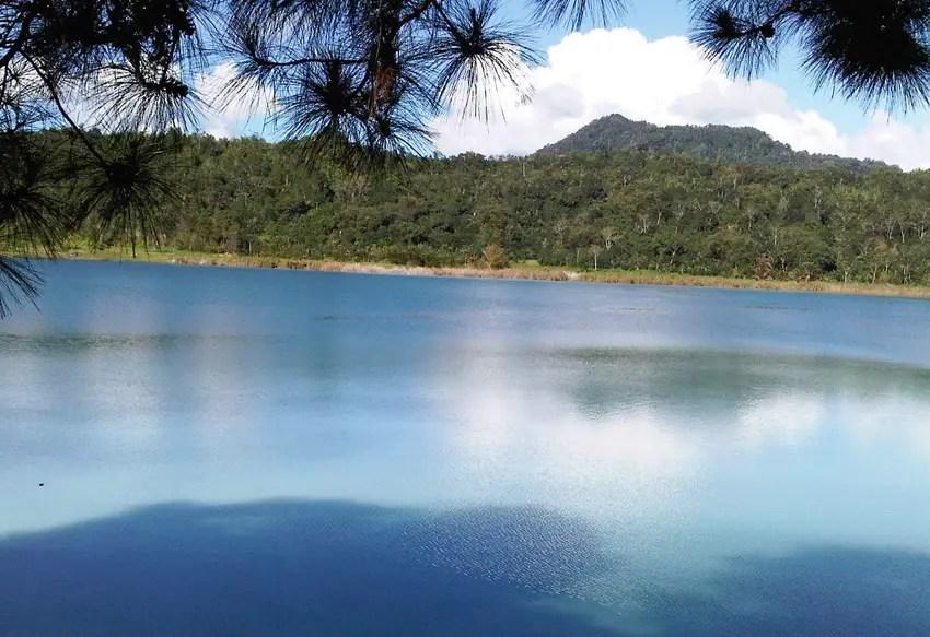 Danau Tondano menyimpan sejarah kisah benteng Moraya