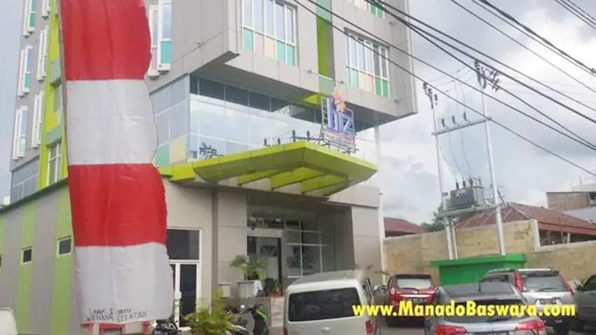 hotel murah di manado ini persis berada di jalan boulevard manado