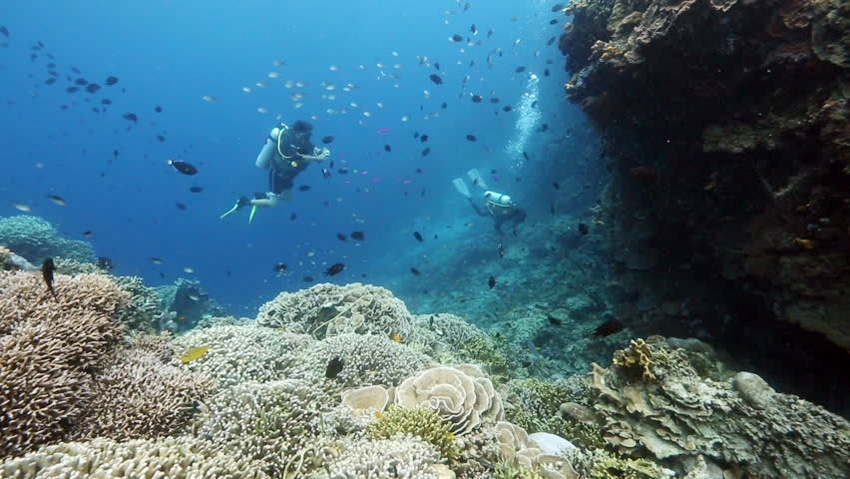 bunaken island at manado city north celebes indonesia