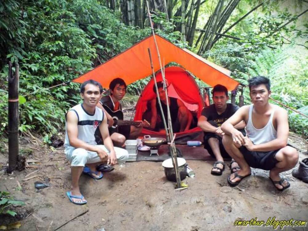 camping ground air terjun tinoor