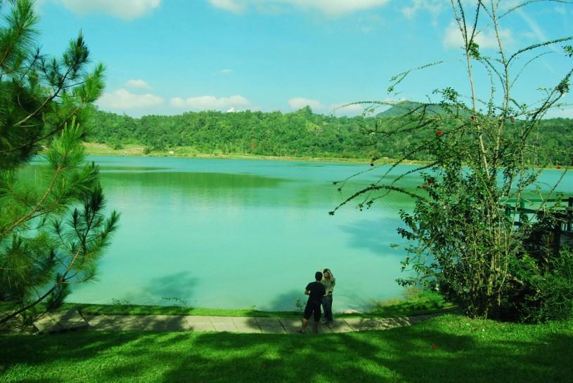 danau linow, aduhan cantiknya