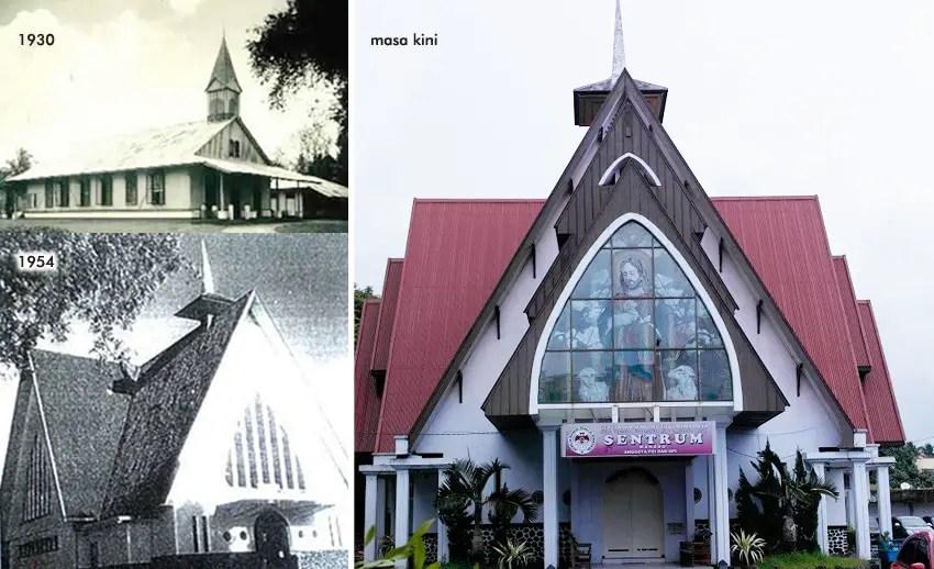 gereja tertua di manado