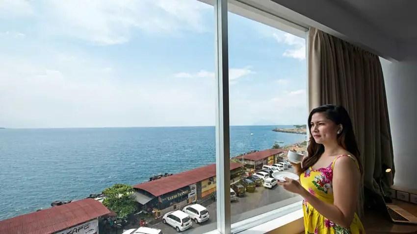 hotel di manado jl piere tendean, yakni hotel sekitar boulevard manado