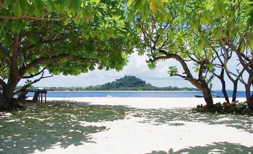 indahnya pulau lihaga di likupang manado