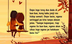Kata Cinta dalam Bahasa Manado dan Artinya