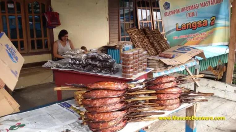 ikan cakalang fufu, ikan khas Manado