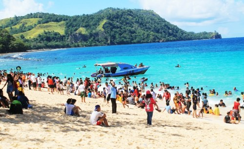Pantai Pall Marinsow – Obyek Wisata Manado yang Merangsek Terkenal
