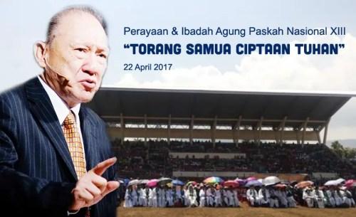 Paskah Nasional 2017 di Tondano, Sulawesi Utara