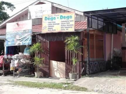 rumah makan dego dego cafe manado