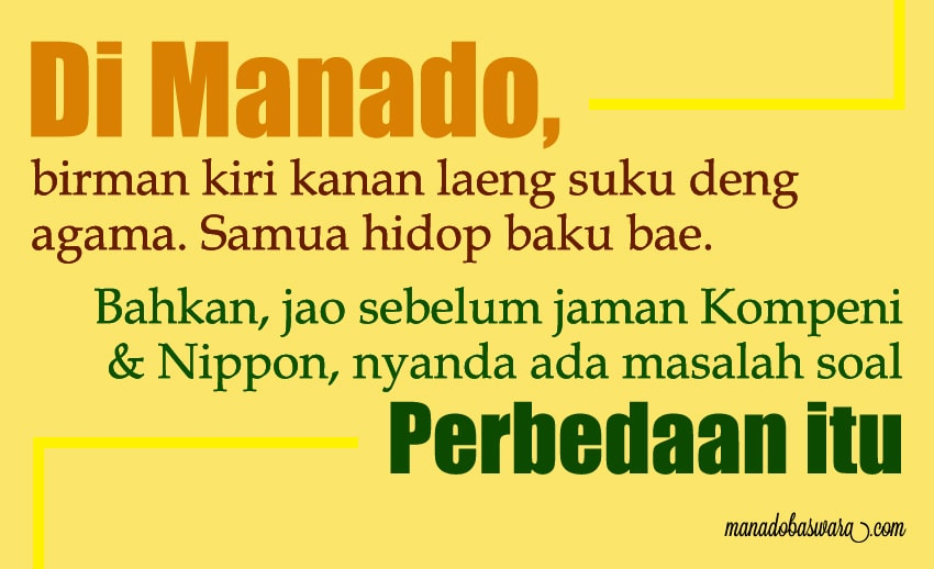 status-bahasa-manado-tentang-persatuan-indonesia