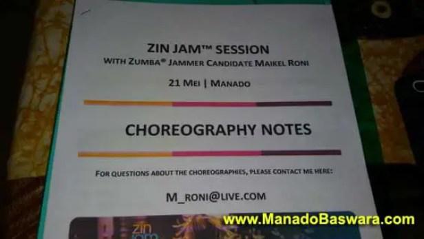 zin zumba manado, jam session