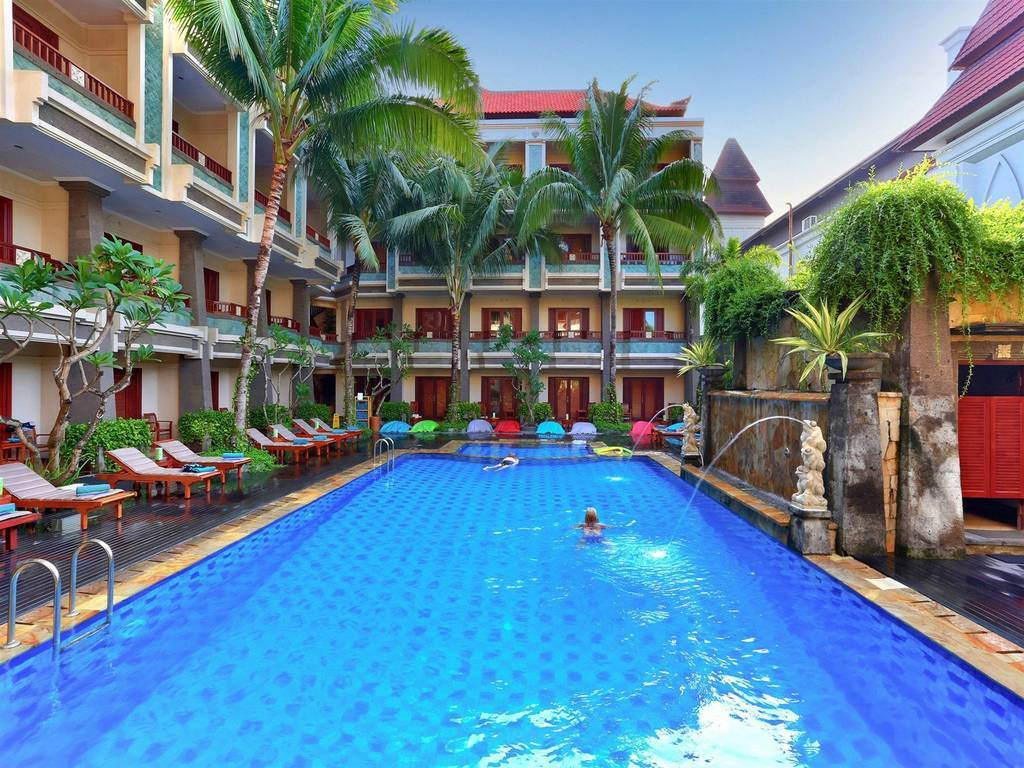 The Vira Bali Hotel. South Kuta - Indonesia