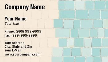 tiling business cards