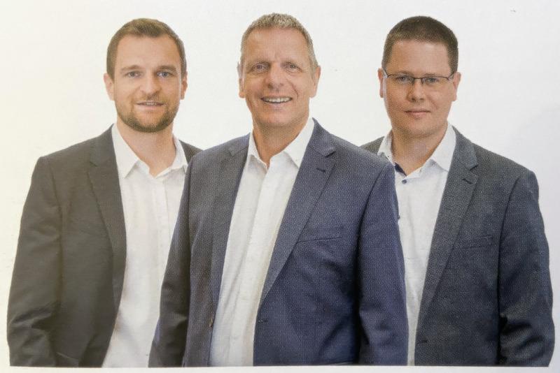 """Das Autoren-Trio von """"Erfolgreich digital zusammenarbeiten"""""""