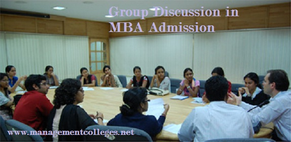 Group Discussion in MBA Admission