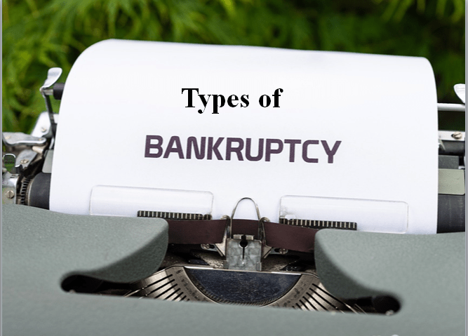 Types of Bankruptcy Laws