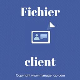 Crer Un Fichier Client Et Construire Les Fiches
