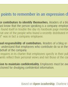 also establish  framework for employee expression rh manageris