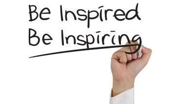 Be Inspired Be Inspiring