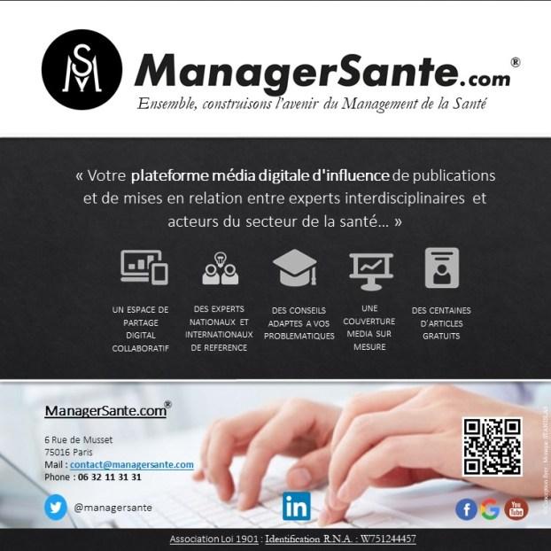 FESTIVAL DE LA COMMUNICATION SANTE Visuel ManagerSante MAJ 01 08 2019 Version 5