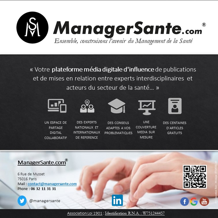 FESTIVAL DE LA COMMUNICATION SANTE Visuel ManagerSante MAJ 01 08 2019 Version 5