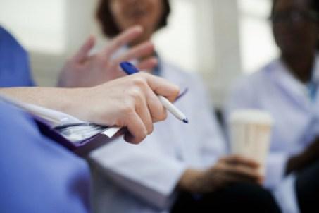 Doctors brainstorming