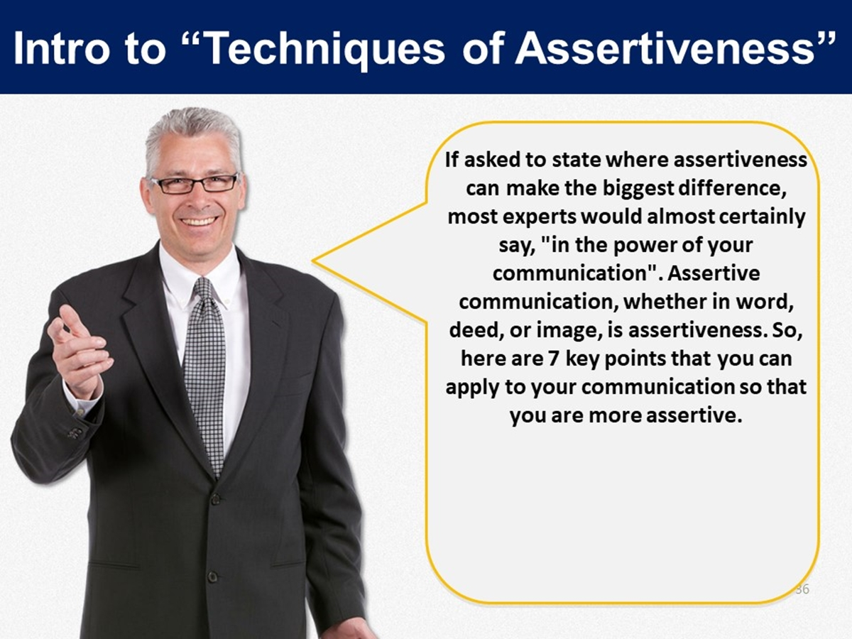 Mtl Course Plans Techniques Of Assertiveness