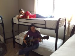 dorm guitar