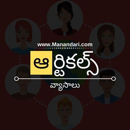 Telugu Articles