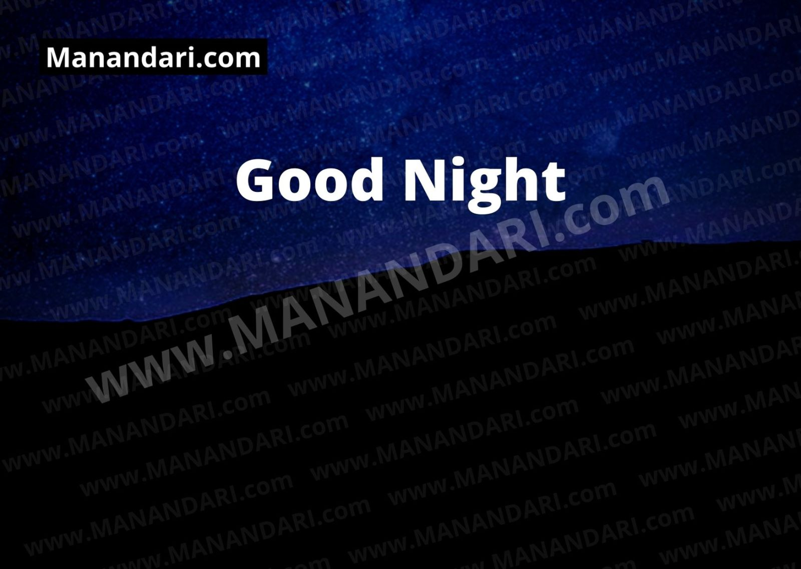 Good Night - 8