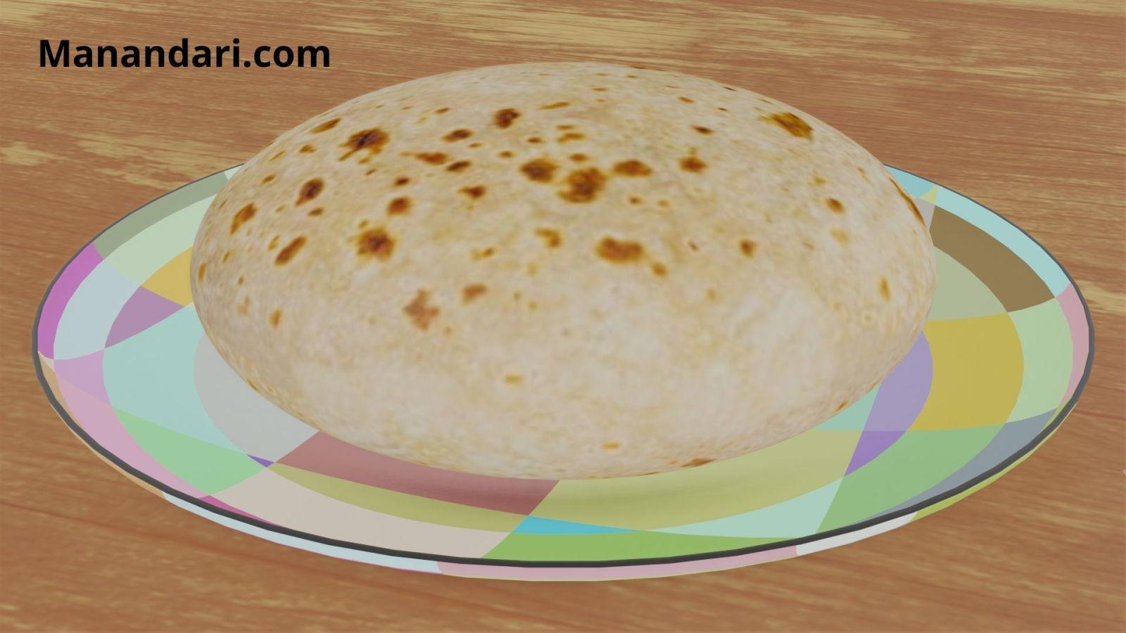 Chapati - Blender - Eevee