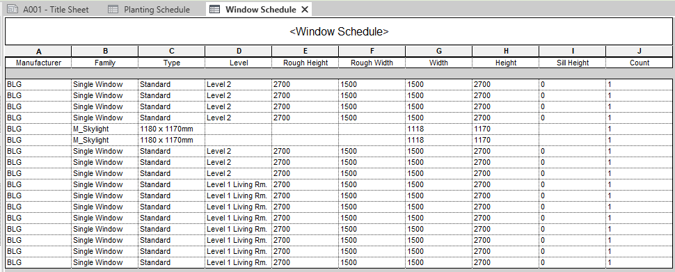 How to Export Revit Schedules to Excel