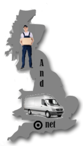 UK to Ireland van and man