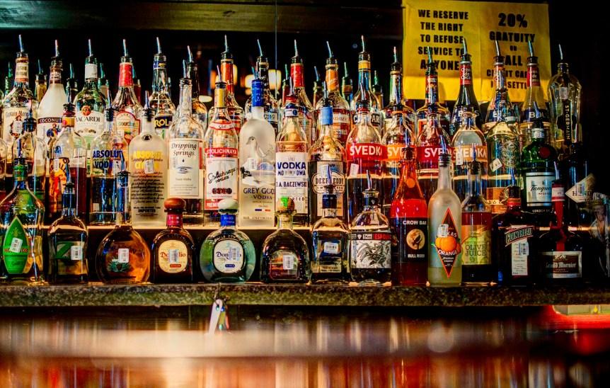 The bar at Crow Bar. (c) 2012 Jack Newton. (CC BY-SA 2.0)