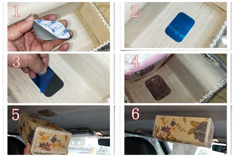 汽車用吸頂面紙盒-推薦使用強力磁鐵DIY – 強力磁鐵 NO.1 專賣店