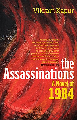 The Assassinations - A Novel of 1984 - Book Review Front Cover