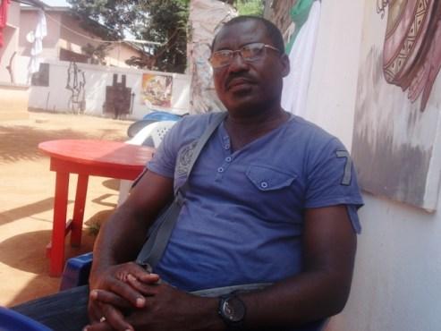 """Afognon Sassou Komlan - Interview/Afognon Sassou Komlan ou les doigts de fée! """" Pour moi l'art est une vocation"""""""