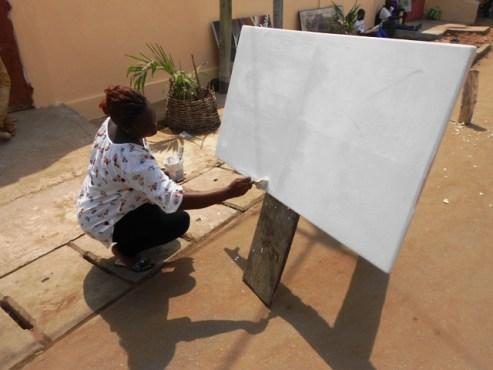 "Chantal KOUTADO 1 - Chantal Koutado/ Vivre sa vocation: ""l'art m'a saisie depuis le ventre de ma mère!"""