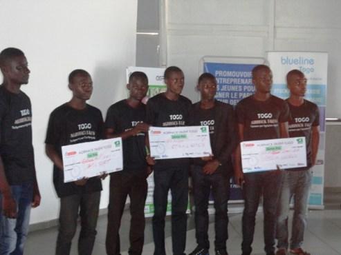 AGRIHACK - Concours Agrihack  Talent -Togo:  remise des prix aux lauréats