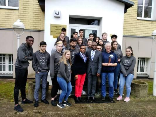 vite d'élèves allemands à l'Ambassade du Togo à Berlin