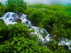 Waterfall on way to Solang