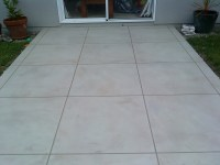 Outdoor Concrete Tile Flooring