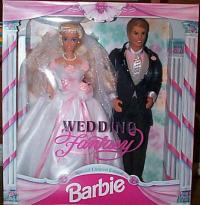Wedding Fantasy Barbie Gift Set