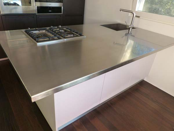 Piano cucina inox  Mancabelli  Craft and Design