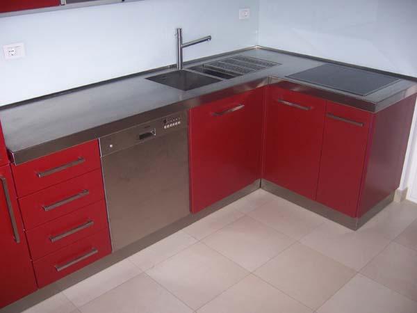 Piano cucina inox  Mancabelli  Craft and Design
