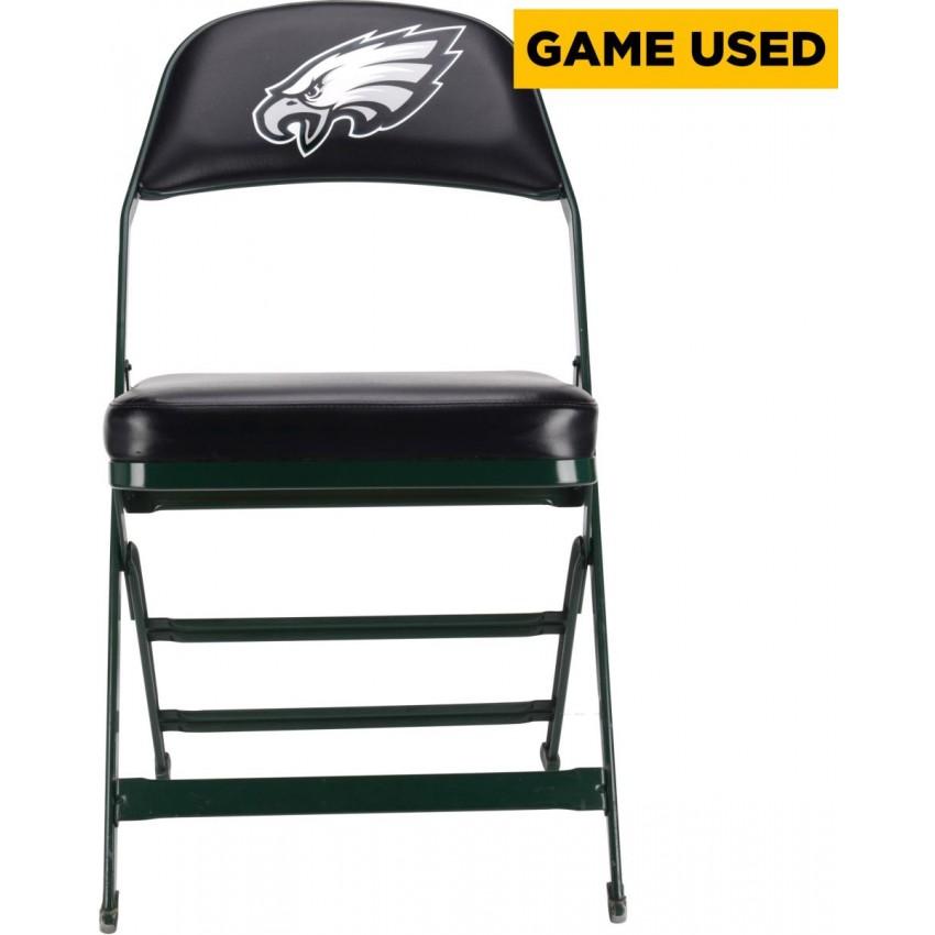 philadelphia eagles chair earthlite avila ii massage jordan matthews game used green and black locker room with logo from 2014 season