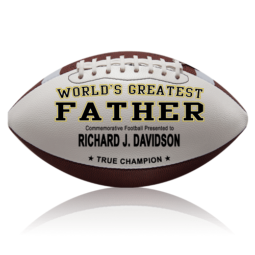 personalized football father