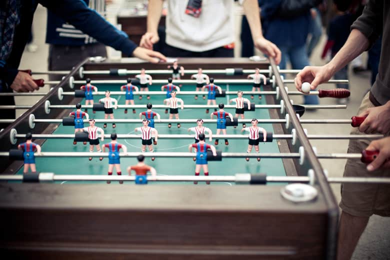 top rated foosball table reviews for the man cave office or outdoors rh mancavekings com