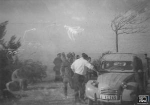 Francisco el sacri con su furgoneta Citroën
