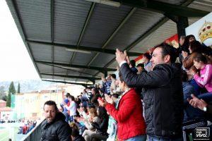 Los aficionados aplaudieron los goles